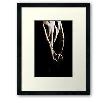 Naked Shadows Framed Print