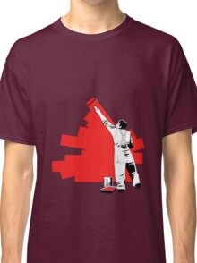 Renovate yourself - red Classic T-Shirt