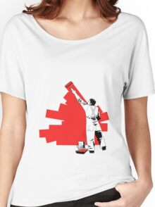 Renovate yourself - red Women's Relaxed Fit T-Shirt