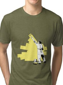 Renovate yourself - yellow Tri-blend T-Shirt