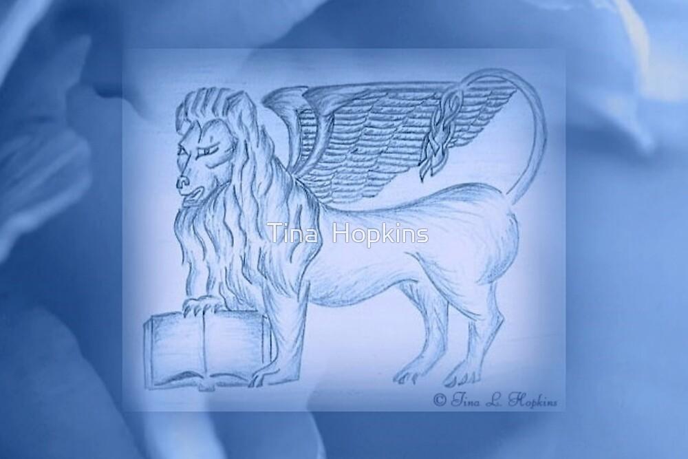 Rose Blue Lion Book by Tina  Hopkins