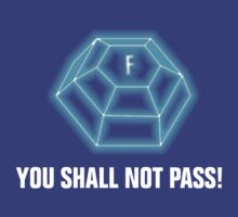 You shall not pass - ForceField blue by SCshirts