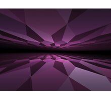 Cubic horizon Photographic Print
