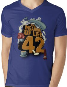 The Meaning of Life Mens V-Neck T-Shirt