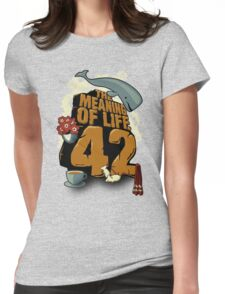 The Meaning of Life Womens Fitted T-Shirt