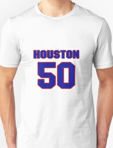 National football player Justin Houston jersey 50 T-Shirt