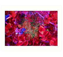 martian succulents Art Print