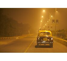 3AM Taxi Ride Photographic Print