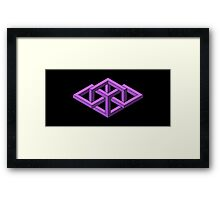 Isometric Impossibilities  Framed Print
