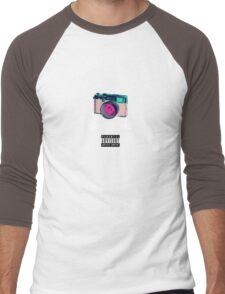 Photography Saved Me Men's Baseball ¾ T-Shirt