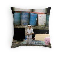 Mekong River Throw Pillow