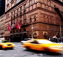 Taxi race by richardfrank