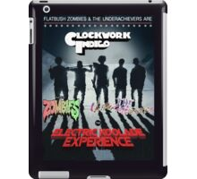 FLATBUSH ZOMBIES UNDERACHIEVERS CLOCKWORK INDIGO iPad Case/Skin
