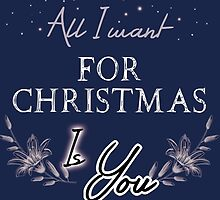All I Want For Christmas... Blue by Elaine Chiu