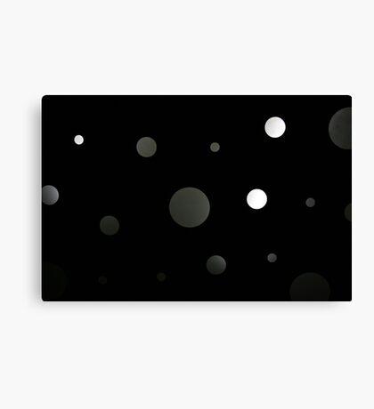 Universe of circles Canvas Print