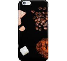 coffee ingredient iPhone Case/Skin