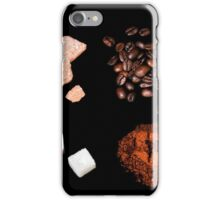 coffee ingredient iPhone Case/Skin