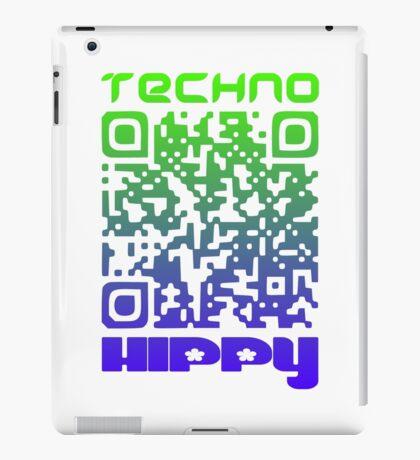 QR Code Technohippy Logo V2 iPad Case/Skin