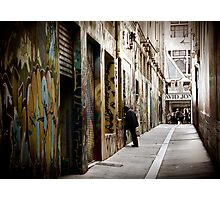 Union Lane Melbourne Photographic Print