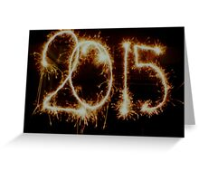 2015 A Sparkling New Year Greeting Card