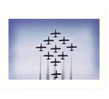 Malta Airshow Art Print