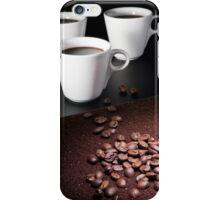 three coffee cups iPhone Case/Skin