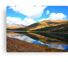 Yosemite: Reflection of the Mountains Canvas Print