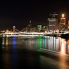 Brisbane at Night by David de Groot