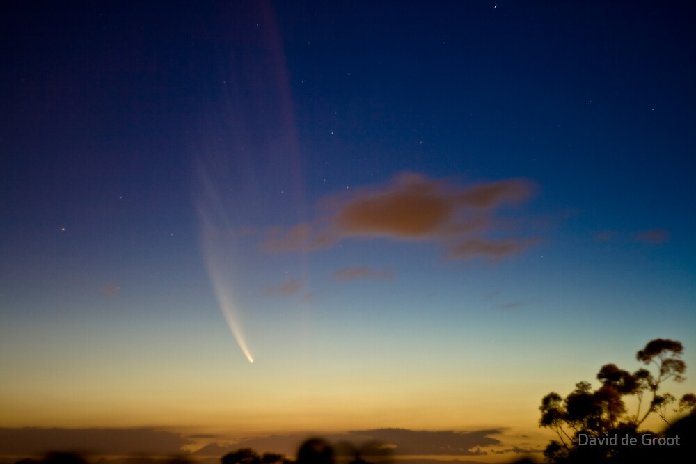Comet McNaught by David de Groot