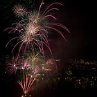 Brisbane Riverfire by David de Groot