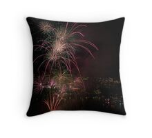 Brisbane Riverfire Throw Pillow