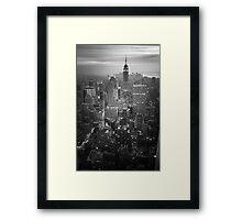 New York (v) Framed Print