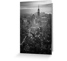 New York (v) Greeting Card