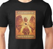 BioShock Infinite – The Tower Protects the Lamb from the False Shepherd Poster Unisex T-Shirt