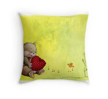 Berry Love Throw Pillow