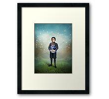 Small Hero Framed Print