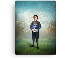 Small Hero Canvas Print
