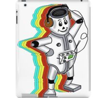 retro robot t-shirt coloured iPad Case/Skin