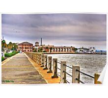 Charleston Harbour Poster