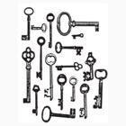 Antique Keys T-shirt by Danielle  La Valle