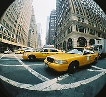 New York Cabs by JennyHumber