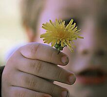 Flower for Mommy by Debbie Sickler