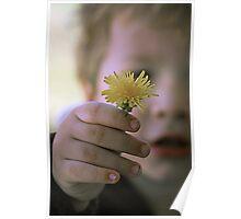 Flower for Mommy Poster