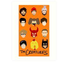 Creatures 2014 Part Deuce Art Print