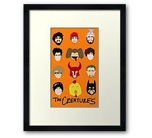 Creatures 2014 Part Deuce Framed Print
