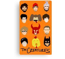 Creatures 2014 Part Deuce Canvas Print