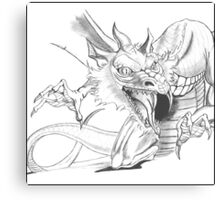 Dragon [Sketch] Canvas Print