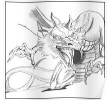 Dragon [Sketch] Poster