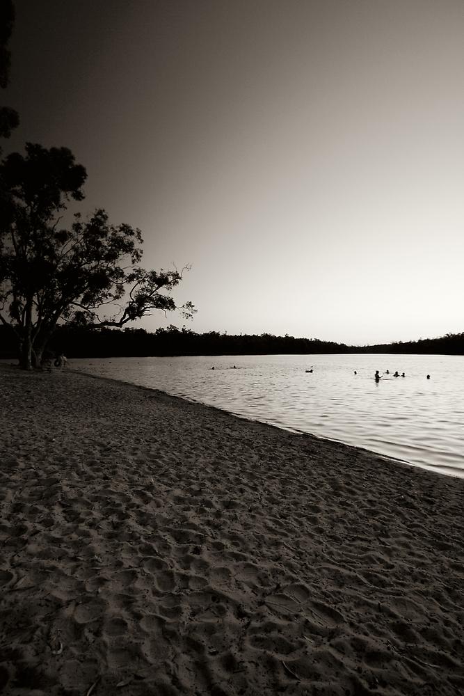 dusk at Lake Leschenaultia by Martin Pot