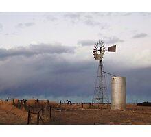 Lem Greene's Windmill Photographic Print